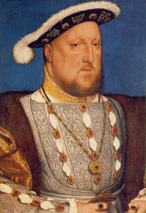 Henry VIII, By Hans Holbein (1536)