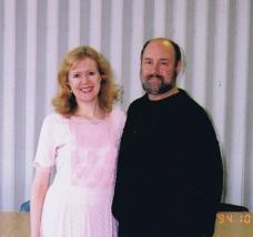 Peter and Sandra Manos